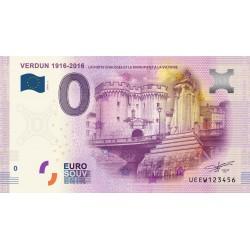 55 - Verdun - 1916-2016 - La porte Chaussée et le monument de la victoire - 2016