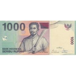 1000 Rupiah - 2000/2009 - Indonésie