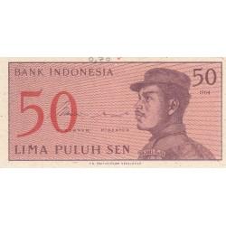 50 Sen - 1964 - Indonésie