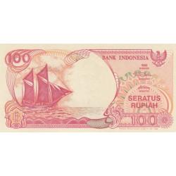 100 Rupiah - 1992 - Indonésie