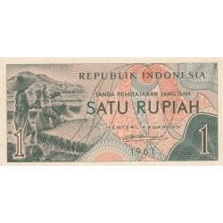 1 Rupiah - 1961 - Indonésie