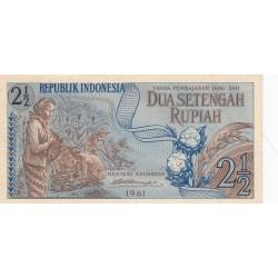 2,5 Rupiah - 1961 - Indonésie