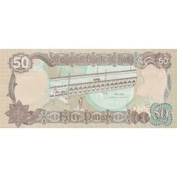 50 Dinars - Iraq