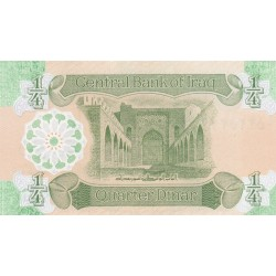 Quarter Dinar - Iraq