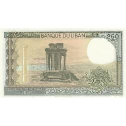 250 Livres - Liban