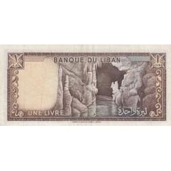 1 Livre - Liban