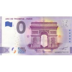 75 - Arc de Triomphe - Paris - Anniversaire - 2020