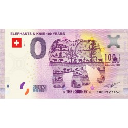 CH - Elephants & Knie 100 years - 2020