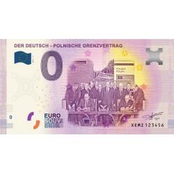 DE - Der Deutsch - Polnische Grenzvertrag (nouveau visuel) - 2020