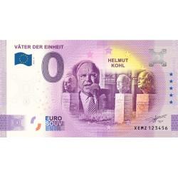 DE - Väter der Einheit - Helmut Kohl (nouveau visuel) - 2020