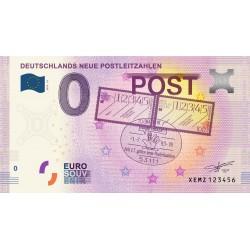 DE - Deutschlands Neue Postleitzahlen (nouveau visuel) - 2020