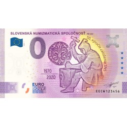 SK - Slovenska Numizmaticka Spolocnost (nouveau visuel) - 2020
