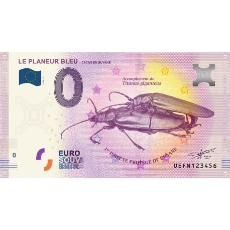 973 - Le planeur bleu - Cacao en Guyane - 2020