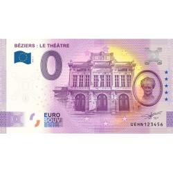 34 - Béziers : Le théatre - 2020