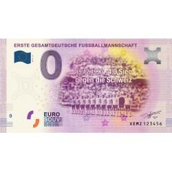 DE - Erste Gesamtdeutsche Fussballmannschaft - 2020
