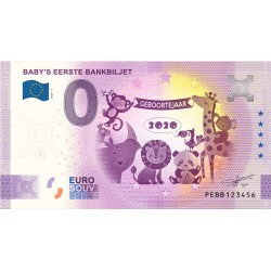 NL - Baby's Eerste Bankbiljet - 2020