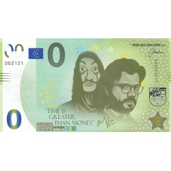 ES - La casa de papel - Time is great than money