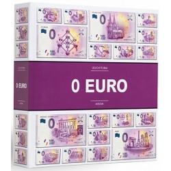 """Album billets €uro Souvenir 2016 - avec billet """"specimen"""""""
