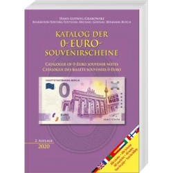 Katalog der 0-Euro-Souvenirscheine / Catalogue of 0-Euro souvenir notes / Catalogue des billets souvenirs 0-Euro