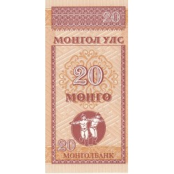 20 Mongo - Mongolie