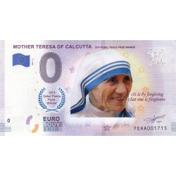 MT - Mother Theresa of Calcutta - 2019
