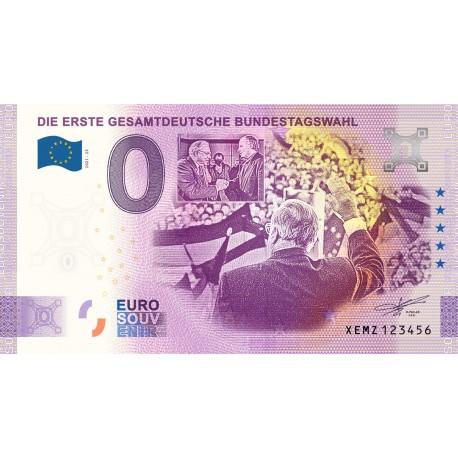 DE - Die Erste Gesamtdeutsche Bundestagswahl - 2021