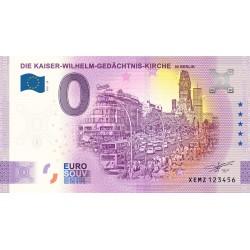 DE - Die Kaiser-Wilhelm-Gedachtnis-Kirche - in Berlin - 2021