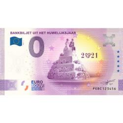 NL - Bankbiljet Uit Het Huwelijksaar - 2020