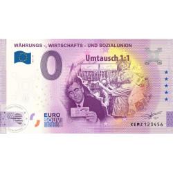 DE - Wahrungs - Wirtschafts - Und Sozialunion - 2021