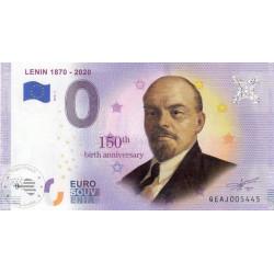 RU - Lenin 1870-2020 - 2019(PEINT)
