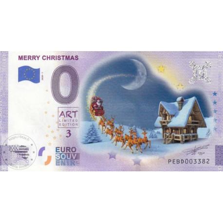 NL - Merry Chrismas - Art limited edition 3 (nouveau visuel) - 2020