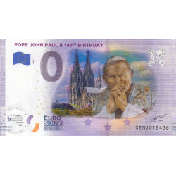 DE - Pope John Paul II - 100th Birthday - 2020-1 (PEINT)
