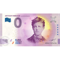 37 - Arthur Rimbaud - Les poètes maudits - 2021