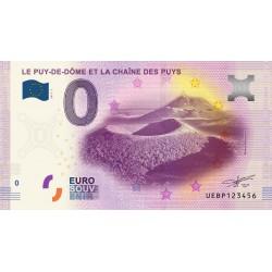 63 - Le Puy-de-dôme et la chaîne des Puys - 2017