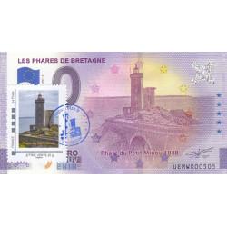 29 - Les phares de Bretagne - Phare du Petit Minou 1848 Timbré et tamponné- 2021