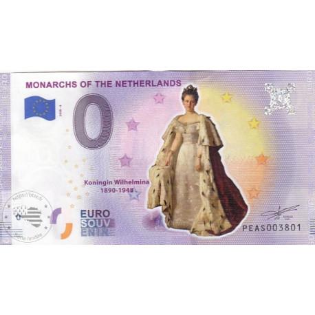 NL - Monarchs of the Netherlands - Koningin Wilhelmina - 2020