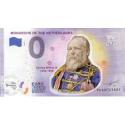 NL - Monarchs of the Netherlands - Koning Willem III (PEINT)- 2020