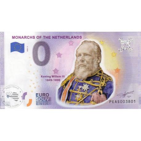 NL - Monarchs of the Netherlands - Koning Willem III - 2020