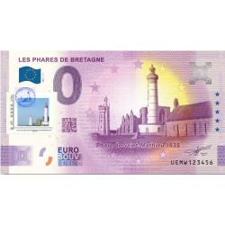 29 - Les phares de Bretagne - Phare de Saint-Mathieu 1835 - 2021 Timbré et tamponné- 2021