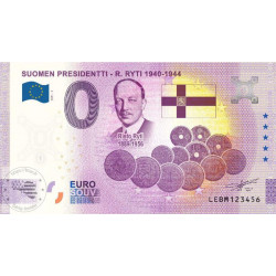 FI - Suomen Presidentti -R. Ryti 1940-1944 (anniversary)- 2021