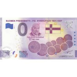 FI - Suomen Presidentti - P.E. Svinhufvud 1931-1937 (anniversary)- 2021