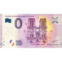75 - Tours de Notre-Dame de Paris - 2017