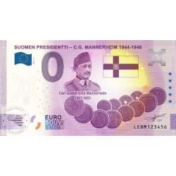 FI - Suomen Presidentti - C.G. Mannerheim 1944-1946 - 2021