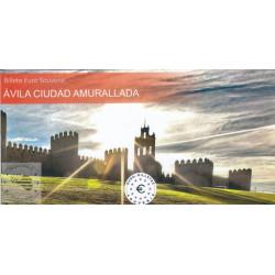 ES - Avila Ciudad Amurallada (Billet peint sous encart) - 2021