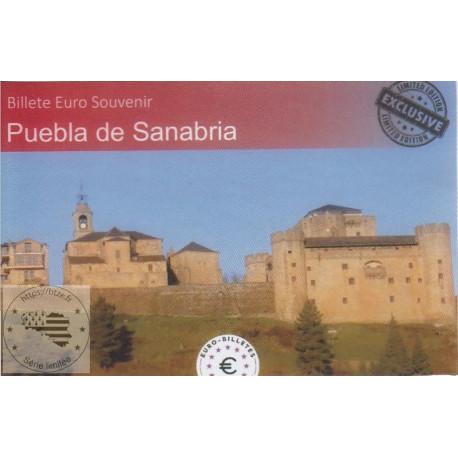 ES - Puebla de Sanabria (Billet peint sous encart) - 2021