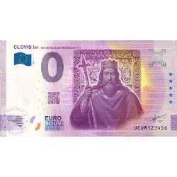 63 - Clovis 1er - Rois de tous les francs 481-511