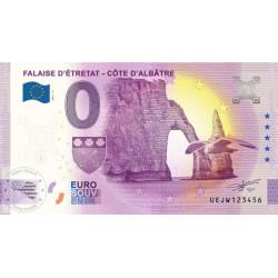 76 - Falaise d'Etretat - Côte d'Albâtre - 2021
