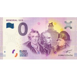 BE - Mémorial 1815 - 2017