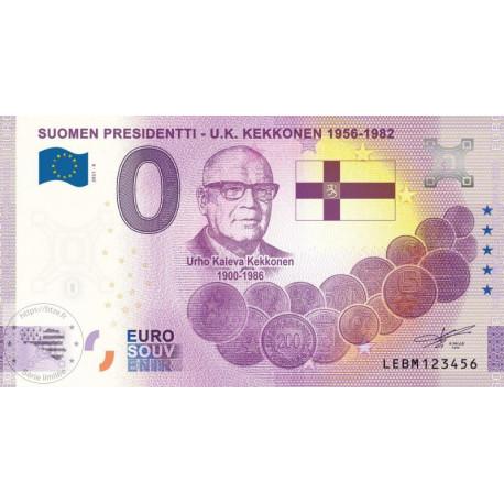 FI - Suomen Presidentti - U.K. Kekkonen 1956-1982 - 2021