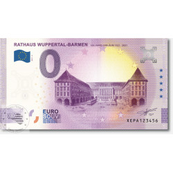 DE - Rathaus Wuppertal-Barmen (anniversary) - 2021